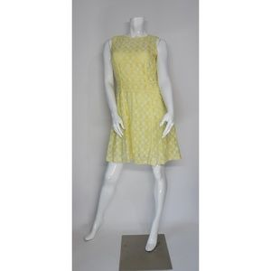 Julian Taylor New York Yellow Dress Sz 12